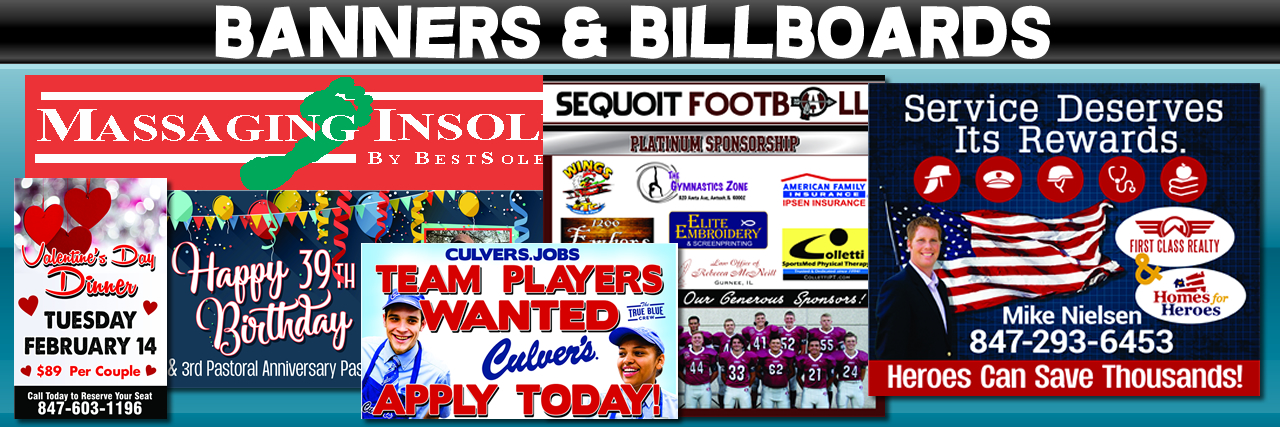banners and billboards